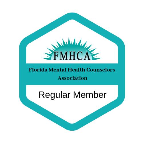 Florida Mental Health Counselors Association - Member Badge Mateja Petje
